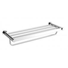 "22"" Towel shelf with bar"