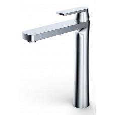 Single-handle lever lavatory faucet