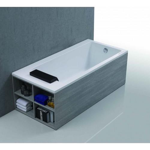 Acrylic Bathtub PEARL (side Shelf)