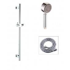 Handheld shower with slide bar